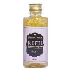REFIL Sabonete Líquido com Glitter DOURADO – 250ml