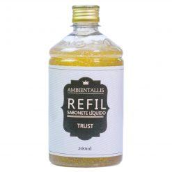 REFIL Sabonete Líquido com Glitter DOURADO – 500ml