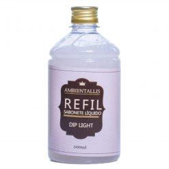 REFIL Sabonete Líquido com Glitter PRATA – 500ml