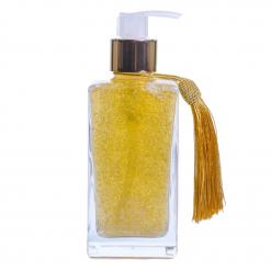 Sabonete Líquido Square Glitter DOURADO - 250 ml