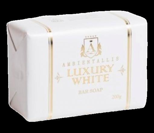 Sabonete Vegano WHITE - Linha Luxury 100% VEGETAL