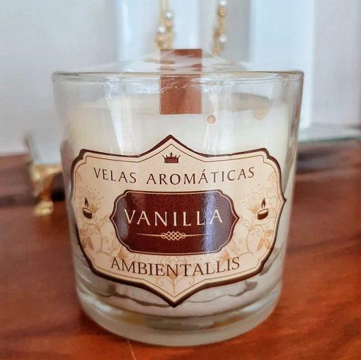 Vela Perfumada Ambientallis 100% vegana - Aroma: Vanilla