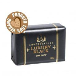 Sabonete Vegano - Linha Luxury 100% Natural BLACK 200g