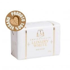 Sabonete Vegano - Linha Luxury 100% Natural WHITE 200g