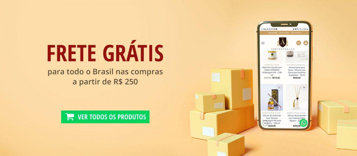 Frete Grátis para todo o Brasil em compras acima de R$ 250. Linha completa de aromatizante de ambiente, difusor de aromas, velas perfumadas, óleos essenciais, água de passar, essências e mais
